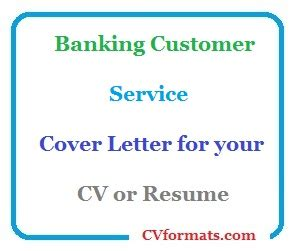 Cover letter for banking job pdf